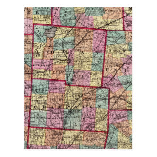 Condados 2 de Ohio Postales