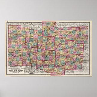 Condados 2 de Ohio Póster