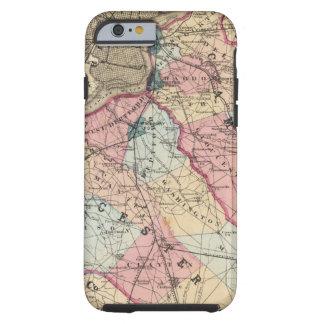 Condados de Camden, Gloucester, NJ Funda Para iPhone 6 Tough