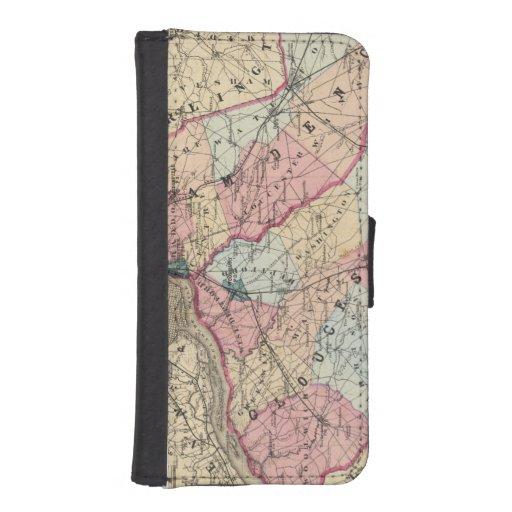 Condados de Camden, Gloucester, NJ Funda Tipo Cartera Para iPhone 5