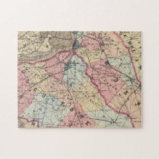 Condados de Camden, Gloucester, NJ Puzzle