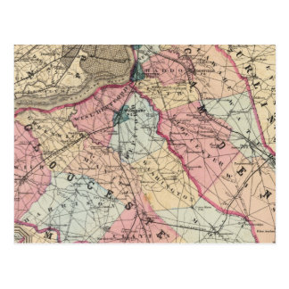 Condados de Camden, Gloucester, NJ Postales