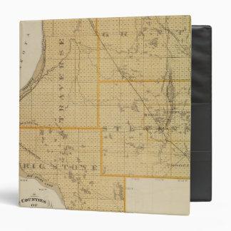 "Condados de Grant, travesía, Minnesota Carpeta 1 1/2"""