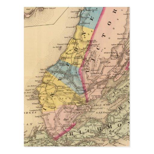 Condados de Inverness, Victoria, NS Tarjetas Postales