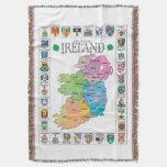 Condados de la lanceta del tiro de Irlanda Manta