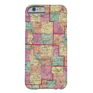 Condados de Ohio Funda Barely There iPhone 6