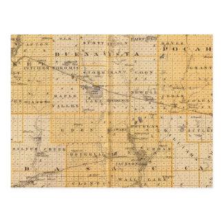 Condados de Pocahontas, cherokees Postal
