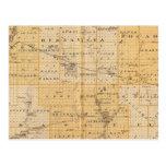 Condados de Pocahontas, cherokees Tarjetas Postales