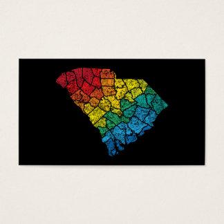 condados del color de Carolina del Sur Tarjetas De Visita