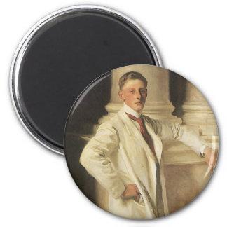 Conde de Dalhousie por Sargent, arte del retrato Imán Redondo 5 Cm