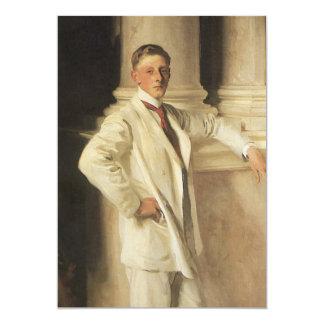 """Conde de Dalhousie por Sargent, arte del retrato Invitación 5"""" X 7"""""""