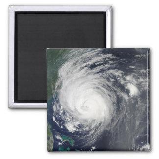 Conde del huracán que pasta la costa de Carolina Imán Cuadrado