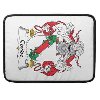 Conde Family Crest MacBook Pro Sleeve