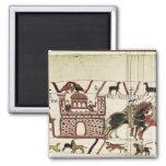 Conde Harold de la tapicería de Bayeux al duque de Imán Cuadrado