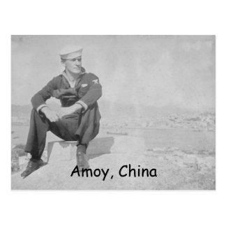 Conde Johnson de Edward en Amoy, China, Amoy, Chin Postales