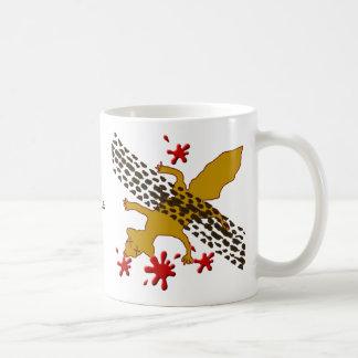 conde la ardilla muerta tazas de café