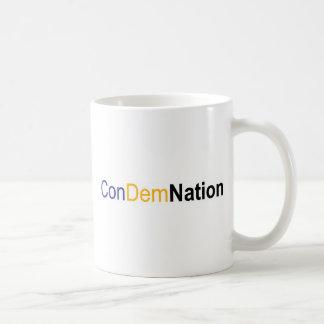 condemnation coffee mug