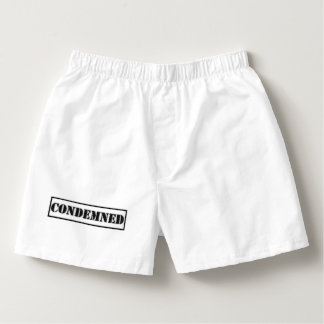 Condemned. Boxers