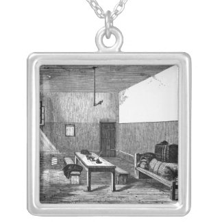 Condemned Cell Newgate Silver Plated Necklace