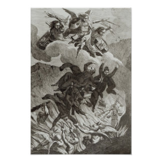 Condenación de las jesuitas, el 6 de agosto de 176 póster