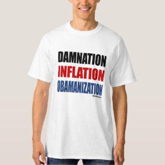 CONDENACIÓN, INFLACIÓN, OBAMANIZATION CAMISAS