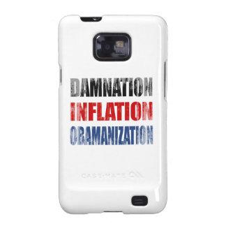 CONDENACIÓN, INFLACIÓN, OBAMANIZATION - copie Samsung Galaxy SII Carcasas