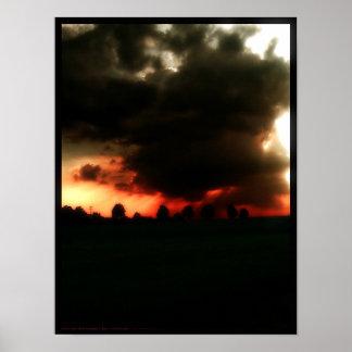 Condenación traída por las nubes póster