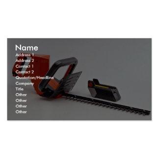 Condensador de ajuste de seto tarjetas de visita