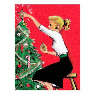 Condensador de ajuste del árbol de navidad de los postales