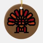 Condensador de ajuste del árbol de TURQUÍA Adorno Redondo De Cerámica