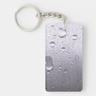 Condensation Steel Plate Keychain