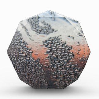 Condensed water drops acrylic award