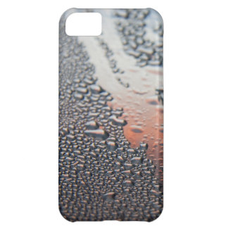 Condensed water drops iPhone 5C case