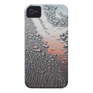 Condensed water drops blackberry bold cover