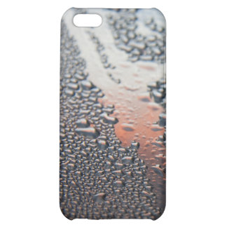 Condensed water drops matte iPhone 5C case