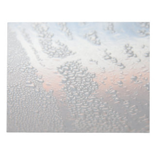 Condensed water drops scratch pads