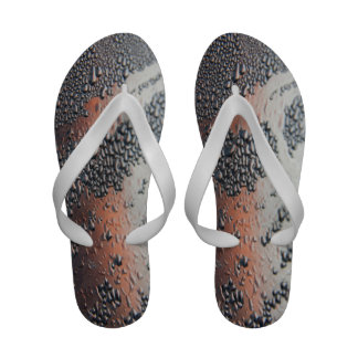 Condensed water drops sandals