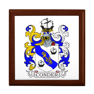 Conder Coat of Arms Trinket Boxes