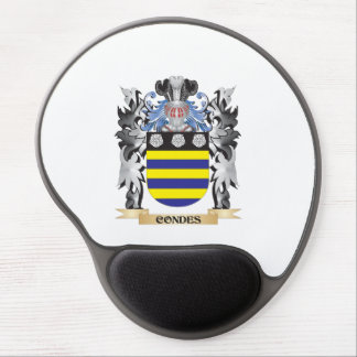 Condes Coat of Arms - Family Crest Gel Mouse Pad