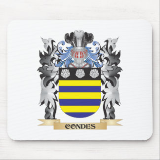 Condes Coat of Arms - Family Crest Mouse Pad