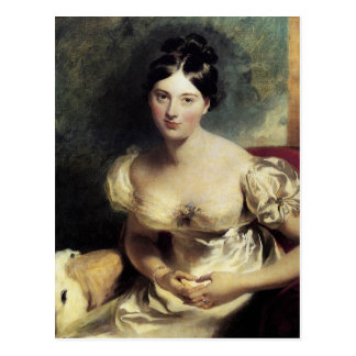 Condesa de Maguerite de Blessington Postales