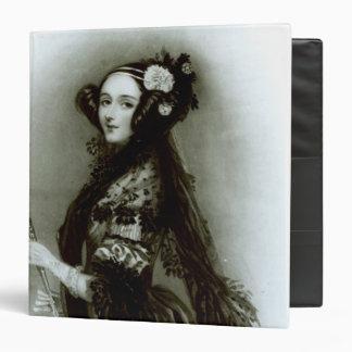 """Condesa del Ada Byron de Augusta de Lovelace Carpeta 1 1/2"""""""