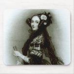 Condesa del Ada Byron de Augusta de Lovelace Mousepads