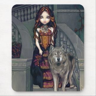 Condesa Mousepad del lobo Alfombrilla De Raton