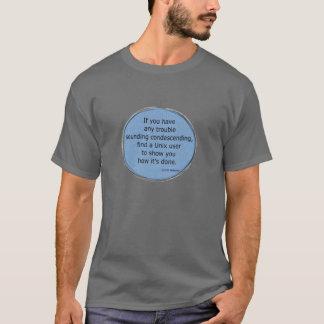 Condescending Unix - Scott Adams T-Shirt