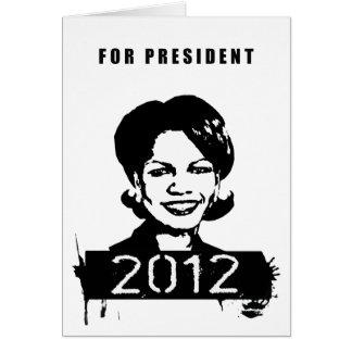 Condi Rice 2012 Cards