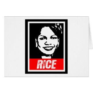 CONDI RICE 2012 CARD