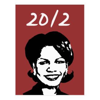 Condi Rice 2012 Postcards