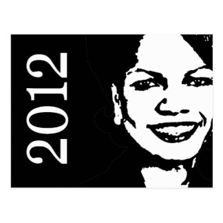 Condi Rice 2012 Post Cards