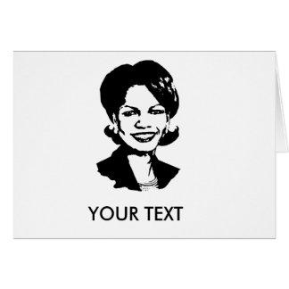 Condi Rice Greeting Cards